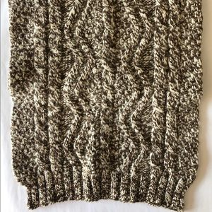 Dries Van Noten Thick Knit Scarf